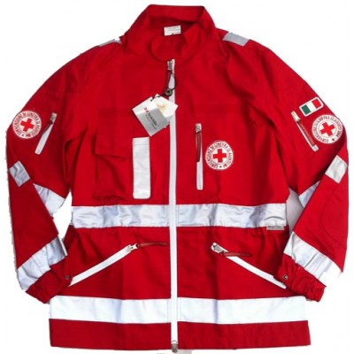 Saharan jacket Red Cross