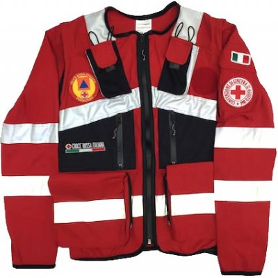 Jacket da intervento CRI Area 3