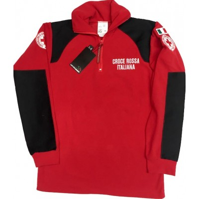 Micro fleece sweatshirt Red Cross-Soccorsi Speciali