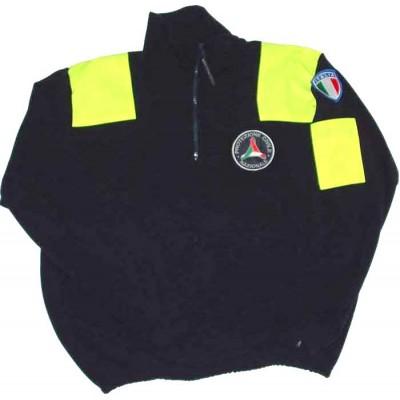 Patches fleece sweatshirt Civil Protection