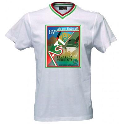 T-shirt ufficiale manifesto Alpini 2016