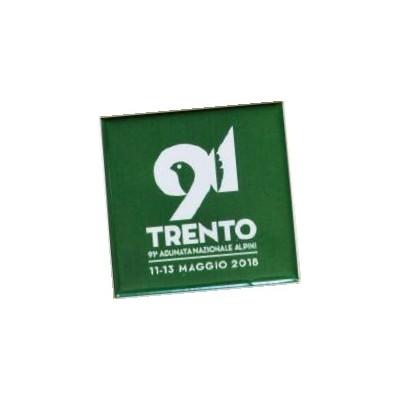 Magnete quadrato 91^ Adunata Trento