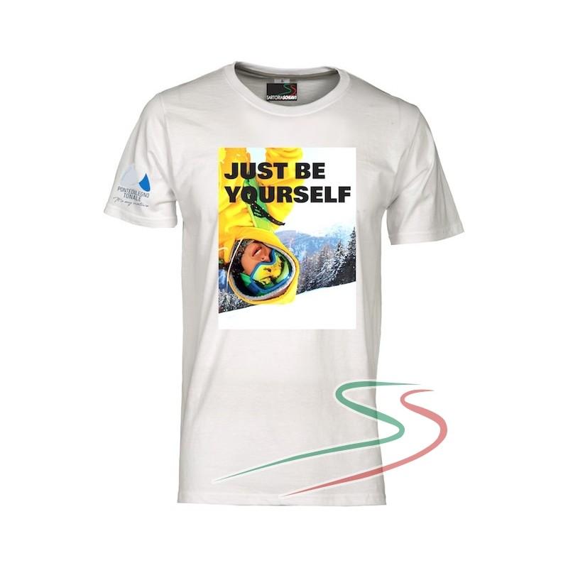 T-shirt Just be yourself Pontedilegnotonale