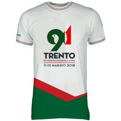 T-shirt ufficiale 91^ Adunata Nazionale Alpini Trento