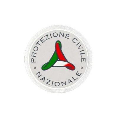 Round emblem National Civil Protection 7 cm