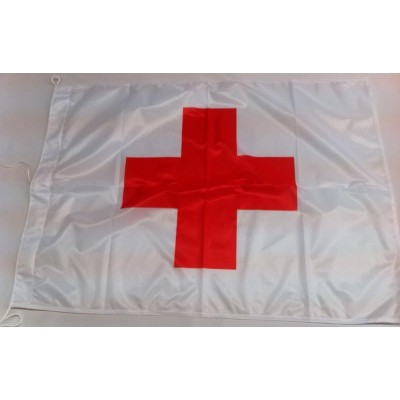 Bandiera Croce Rossa 100x150