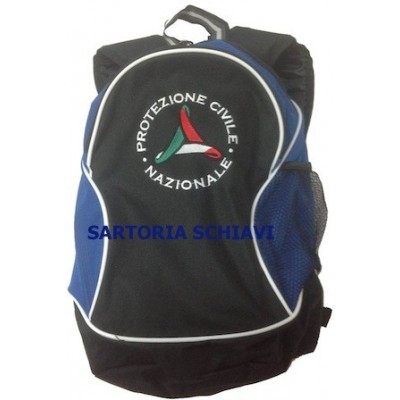 Blue backpack National Civil Protection