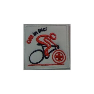 Ricamo CRI in bici
