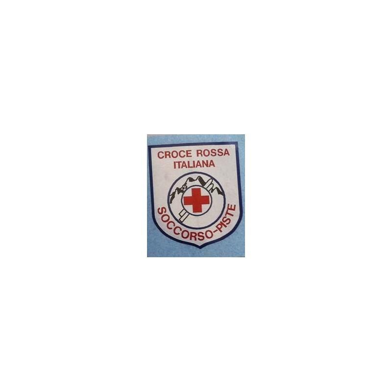 adesivo laminato croce rossa soccorso piste sartoria schiavi