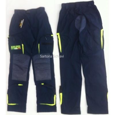 Pantalone da intervento Protezione Civile Lombardia