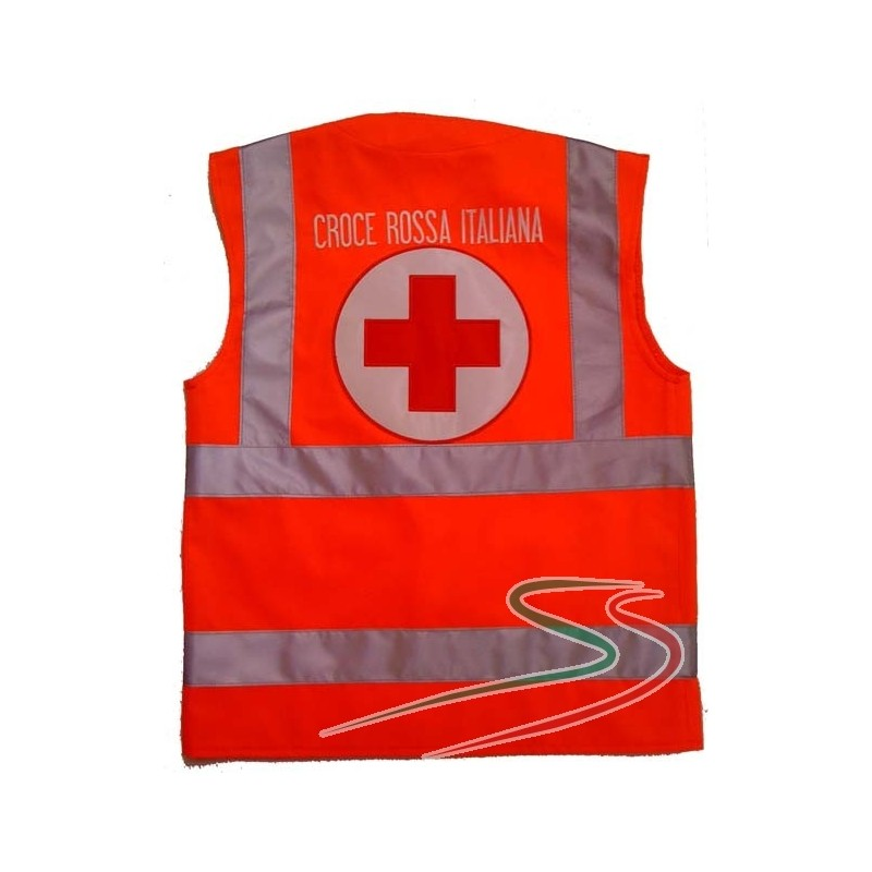 Cross Safety Red Cross Safety Vest