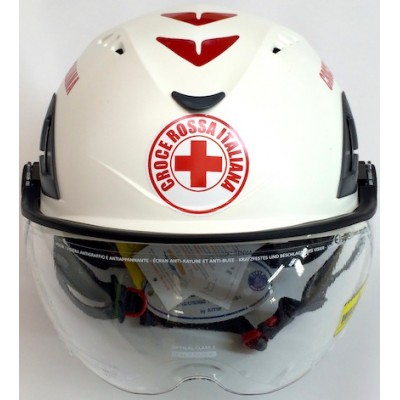 Safety helmet Red Cross