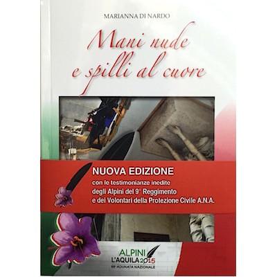 """Libro """"Mani nude e spilli al cuore"""" di Marianna Di Nardo"""