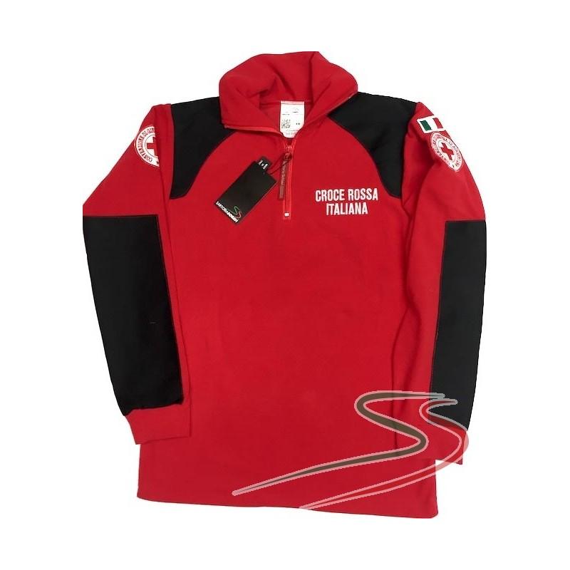 Micro fleece sweatshirt Red Cross-Soccorsi Speciali