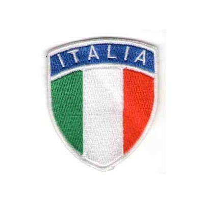 Italian shield patch, small size
