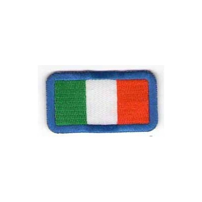 Italian flag patch, small size