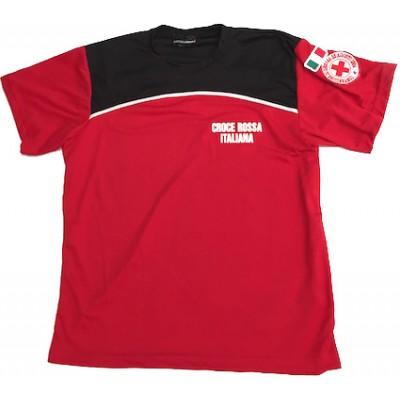 T-shirt microfibra Croce Rossa