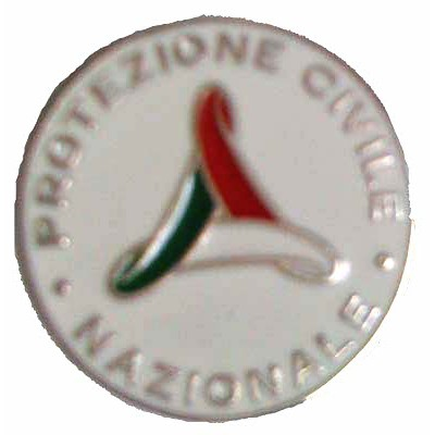 Pin National Civil Protection 36 mm