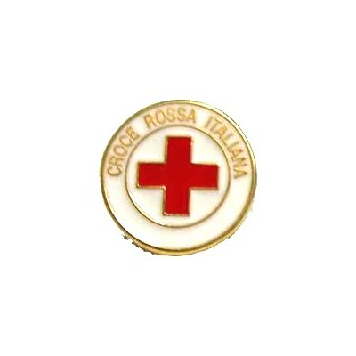 Small Red Cross pin