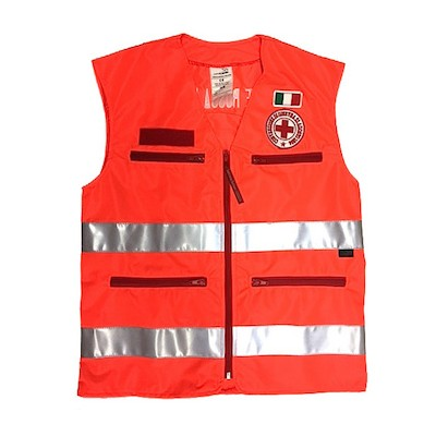 Red Cross safety vest - new model