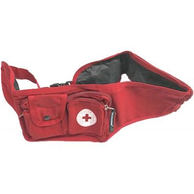 Marsupio rosso grande Croce Rossa
