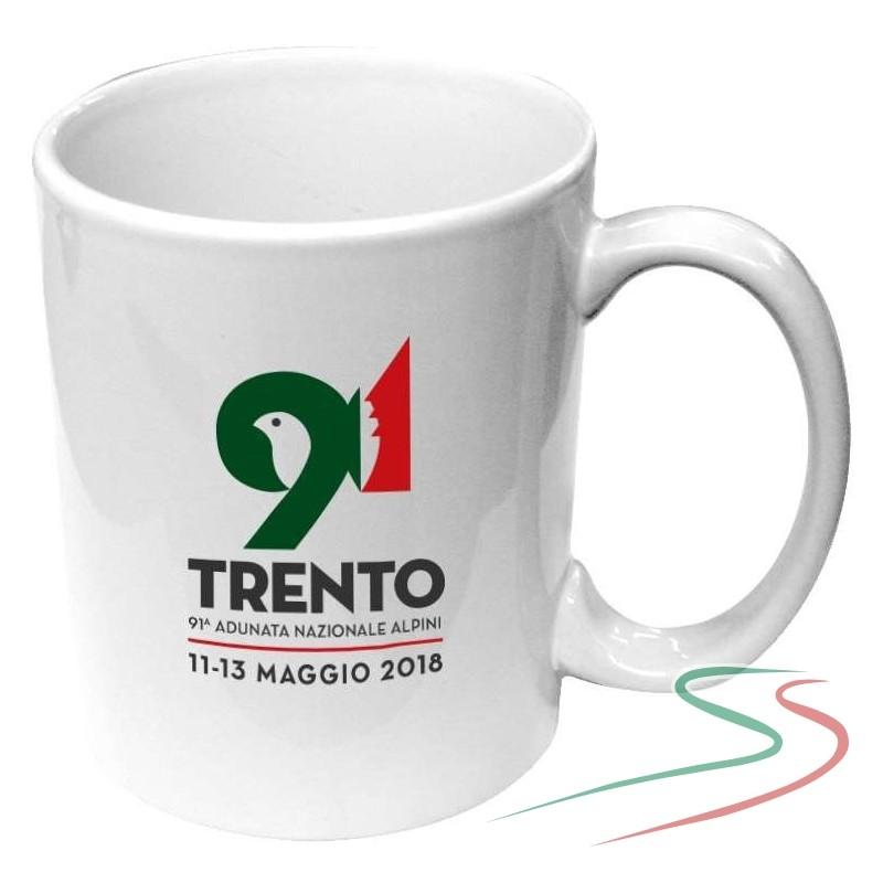 Mug in ceramica 91^ Adunata Trento