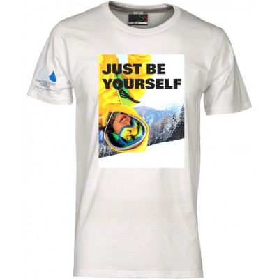 T-shirt Just be yourself Pontedilegnotonale