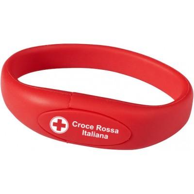 Bracciale USB Croce Rossa