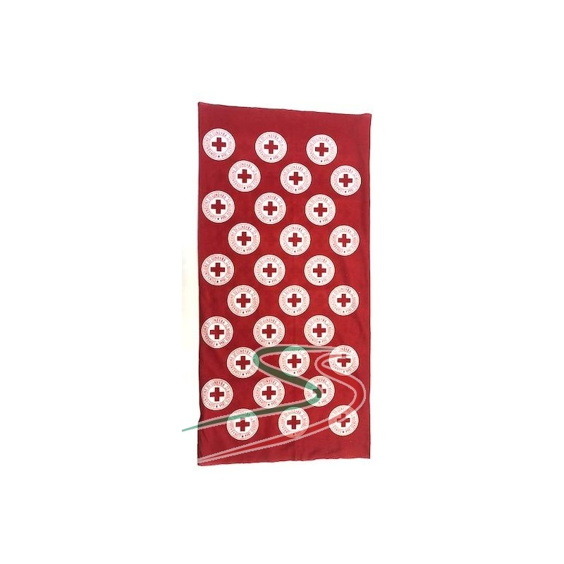 Scaldacollo microfibra Croce Rossa