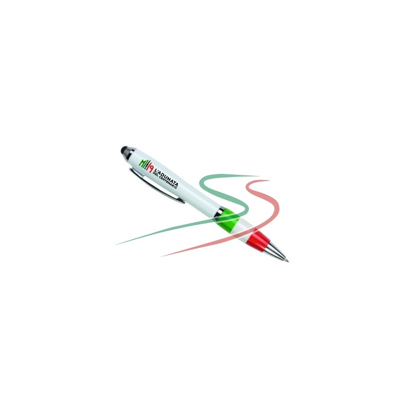 Penna a sfera tricolore Adunata Milano