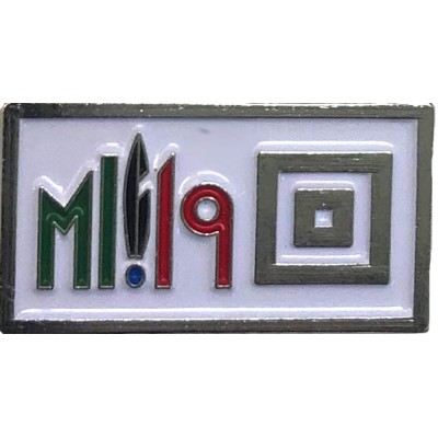 Distintivo metallo Adunata Alpini Milano