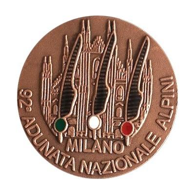 Medaglia ufficiale 92^ Adunata Nazionale Alpini Milano