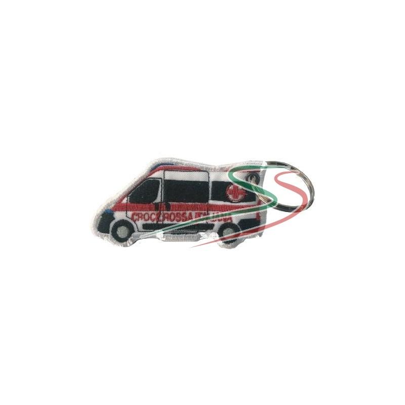 Portachiavi Ambulanza CRI