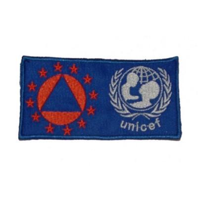 Ricamo Prot Civ Unicef