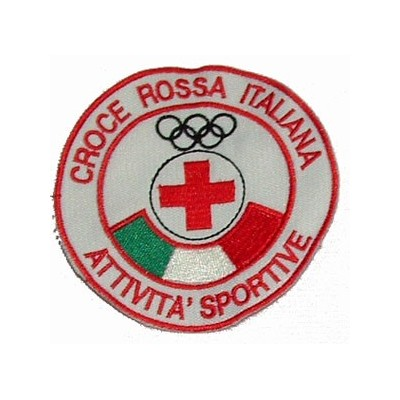 Italian Red Cross sport activities patch