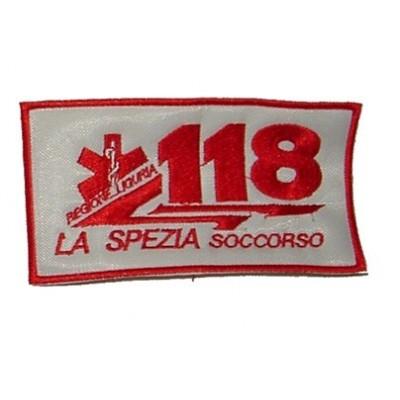 118 patch for the city of La Spezia in Liguria