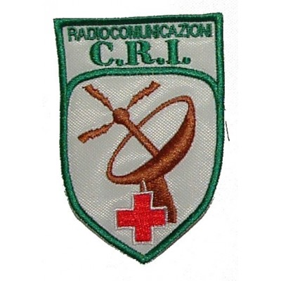 Radio Operator for Italian Red Cross Patch