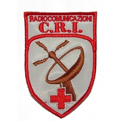Radio trainer for Italian Red Cross patch