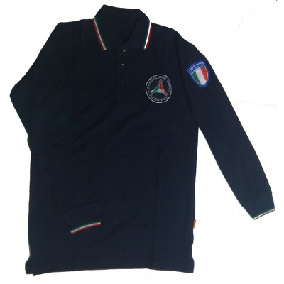 Polo shirt L/S Civil Protection