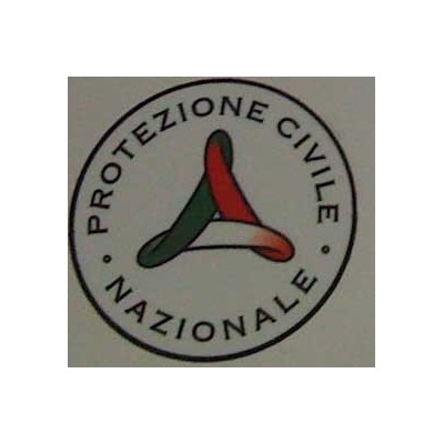 Laminated sticker - Civil Protection