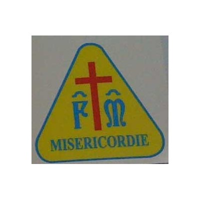 Laminated sticker - Misericordie
