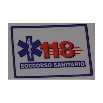 Laminated sticker 118