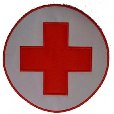 Ricamo da schiena Croce Rossa