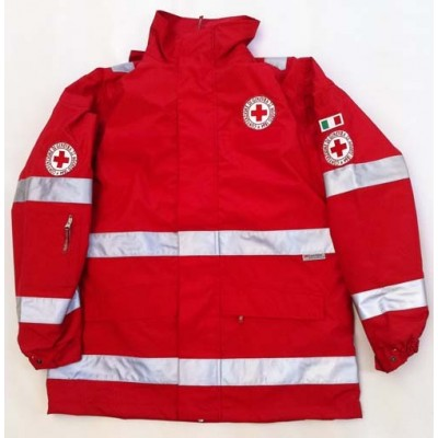 Red Parka Red Cross - new model