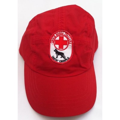 Waterproof cap Red Cross-Cinofili