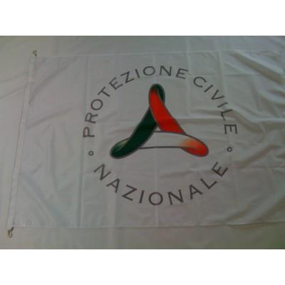 Bandiera Protezione Civile 100x150