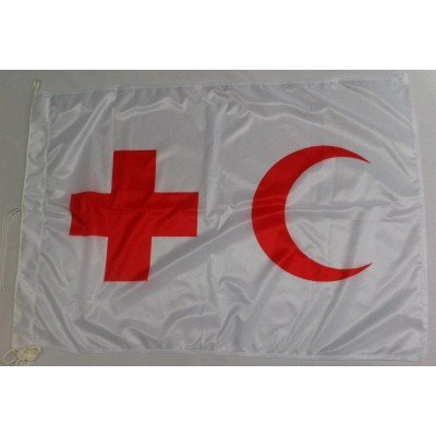Bandiera Croce/mezzaluna Rossa 100x150