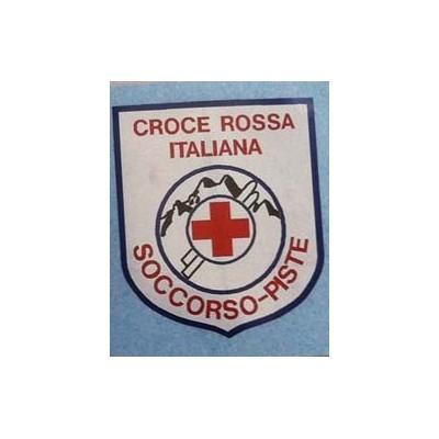 Adesivo laminato Croce Rossa Soccorso Piste