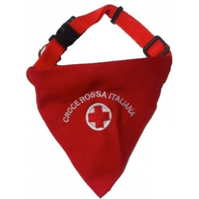 Bandana collar Red Cross
