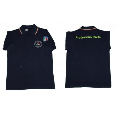 S/S Civil Protection Polo shirt